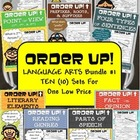 Order Up! Language Arts Bundle #1 (10 Sets)
