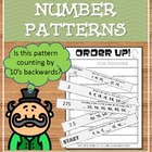 Order Up! Number Patterns