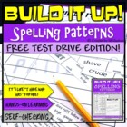 Order Up! Spelling Patterns {Free}