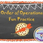 Order of Operation Fun &amp; Engaging Activity (Notes and Practice)