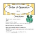 Order of Operation Game Cards
