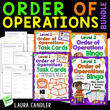 Order of Operations Bingo Combo