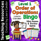 Order of Operations Bingo Level 1 (5th Grade)