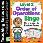 Order of Operations Bingo Level 2 (5th Grade)