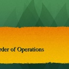 Order of Operations-Common Core Power Point