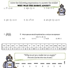 Order of Operations Engaging Riddle