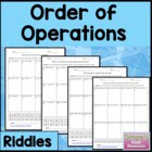 Order of Operations Riddle 6.EE.2c