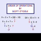 Order of Operations Smartboard Math Lesson
