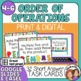 Order of Operations Task Cards: 32 Short Answer Cards