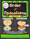 Order of Operations: Tug of War (Addition and Subtraction)