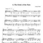 Order of the Flats Song, Teacher Edition
