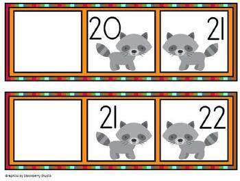 Ordering Numbers: What comes before? Numbers 0-110 Math Center