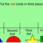 Ordinal Numbers 1st-4th Place Activity
