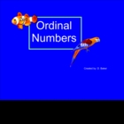 Ordinal Numbers Smartboard Practice