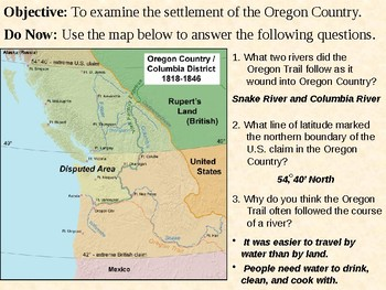 Oregon Country PowerPoint Presentation
