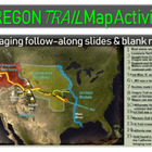Oregon Trail Map Activity - engaging, fun, informative and