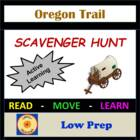 Oregon Trail Scavenger Hunt