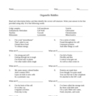 Organelle Riddles Worksheet