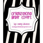 Organizational Binder Covers