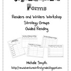 Organizational Forms for Writers &amp; Readers Workshop and Gu