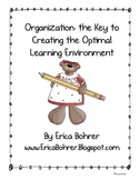 Organizational Skills for Teachers -FREE Download