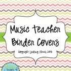 Organize Your Kodaly Materials: Multi-Colored Chevron Bind