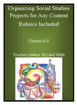 Organizing Social Studies Projects For Any Content (W/Rubr