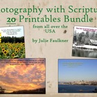 Original Photography with Scriptures - Great for Gifts or