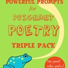Original Poetry Pack 1: Color Poem, Bio Poem, and Simile Poem