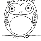 Original Vowel Owl Illustration