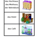 Orte (Places in German) concentration game 1