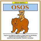 Osos Thematic Unit in Spanish
