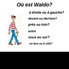 O est Waldo? French prepositions
