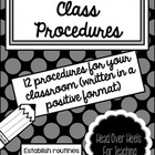 Our Class Procedures