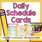 Our Daily Schedule Cards