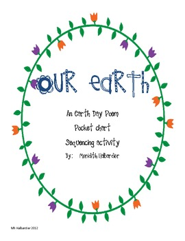 Our Earth Day Poem Pocket Chart Activity