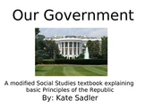 Our Government; A modified Social Studies non-fiction book