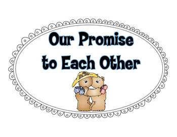 Our Promise to Each Other...Freebie