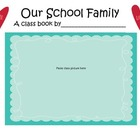 Our School Family Class Book