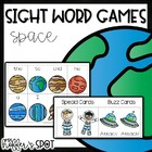 Out of Orbit {Space Sight Word Games}