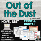 Out of the Dust - Student-Ready Complete Novel Packet-Comm