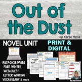 Out of the Dust - Student-Ready Novel Unit - Common Core
