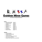 Outdoor Minor Games Unit Plan