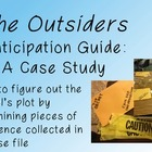 Outsiders Anticipation Guide: Case File evidence sheets