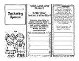 Outstanding Opinion Writing! Pamphlet Graphic Organizer to