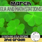 Over The Rainbow--St. Patrick's Day Centers CCSS Aligned