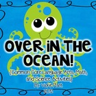 Over in the Ocean {Common Core Math and Language Arts Cent