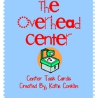 Overhead Center Task Cards