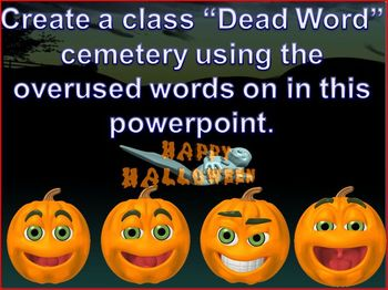 Overused Dead Words Powerpoint