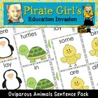Oviparous Animal Sentence Building Pack